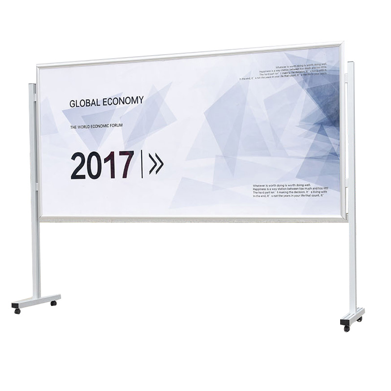 Portable poster stand
